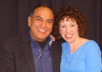 Don Miguel Ruiz and Dr. Mara