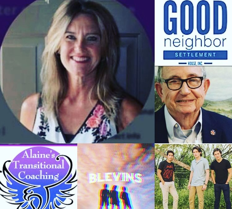 March 24, 2019: Alaine Nolt on Tips to Reduce Constant Stress; Jack White of Good Neighbor Settlement House – Providing Compassion on the Border; Musical Group, Blevins; & MORE!