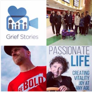 March 10, 2019: Director and Filmmaker, Sean Danby and Rob Quartly, on Grief Stories, a Video Platform for Coping with Loss; Sergio Cordova on Team Brownsville Providing Compassion, Food, Clothes, and Toys for Asylum Seekers Stuck in Mexico; Musician, Paul Martin Bankowski on Camp Gladiator; & Dr. Mara on Purpose and Passion for a Fuller/Healthier Life