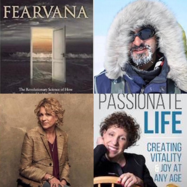 "April 28, 2019: Akshay Nanavati – ""Fearvana"" – Turning Fear into Health, Wealth, & Happiness ; Nashville Songwriter, Caryl Mack; Dr. Mara on Making Time for Your Dreams in Spite of the Critics"