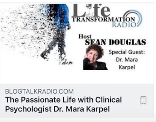May 29, 2019: Dr. Mara was Interviewed on Life Transformation Radio – Listen to the podcast HERE!