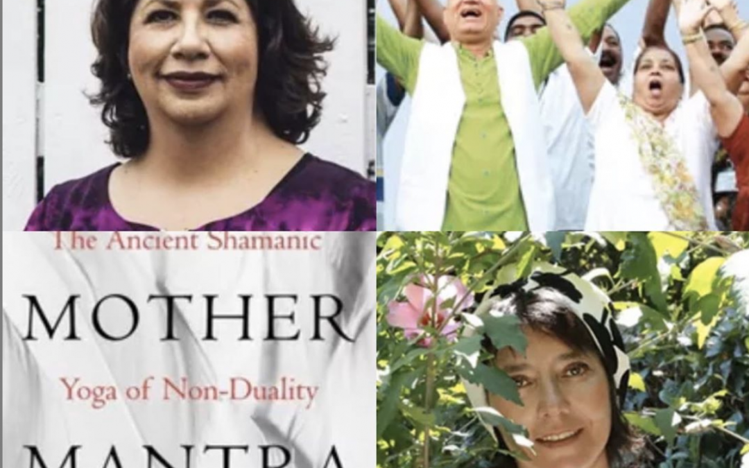 "January 19, 2020:  Laughter Yoga with Rosa Linda Cruz; ""The Mother Mantra: The Ancient Shamanic Yoga of Non-Duality"" with Selene Calloni Williams in the Swiss Alps; & Dr. Mara with Passionate Living When the Path is Bumpy"