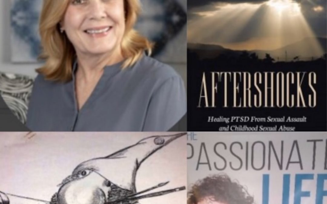 May 10, 2020:  EMDR – Treatment for PTSD with Susan Brunson, LCSW; Producer, Art Mendoza – artoonz animation ink; & Dr. Mara on Living w/Passion During a Pandemic