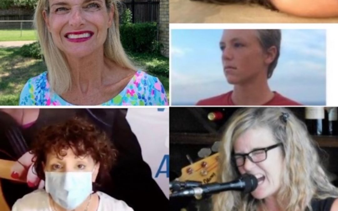 Sept. 13, 2020:  Terri Burns on Dealing with Family & Couple Conflicts During Covid; Austin Jazz Musician, Sharon Bourbonnais; Twins in Bay of Banderas, Mexico; & Re-Connecting to Passion During Pandemic Fatigue