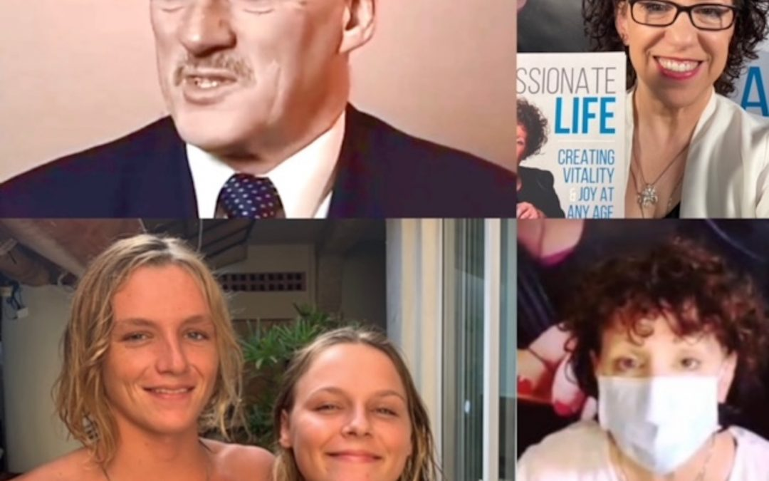 December 20, 2020:  Robert Anthony in Australia, Founder of Great Life Choice, Discusses the Keys to Happiness; Twins, Minerva and Ruben in Mexico; & Dr. Mara on Connecting Passion During Pandemic Winter
