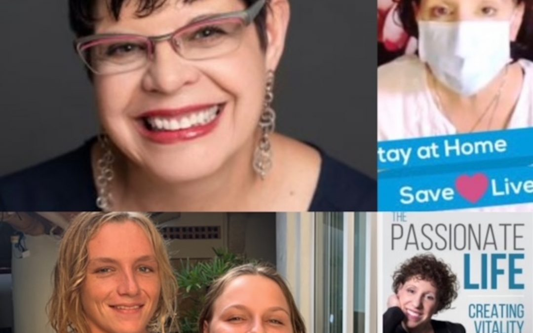 December 13, 2020:  Elise Krentzel, of Kumi & Co. (Illuminating Your Talents) on Wholesomeness in Business & Personal Life to Achieve Brilliance; Twins, Minerva and Ruben in Bay of Banderas; & Dr. Mara on Living with Passion During a Pandemic Winter
