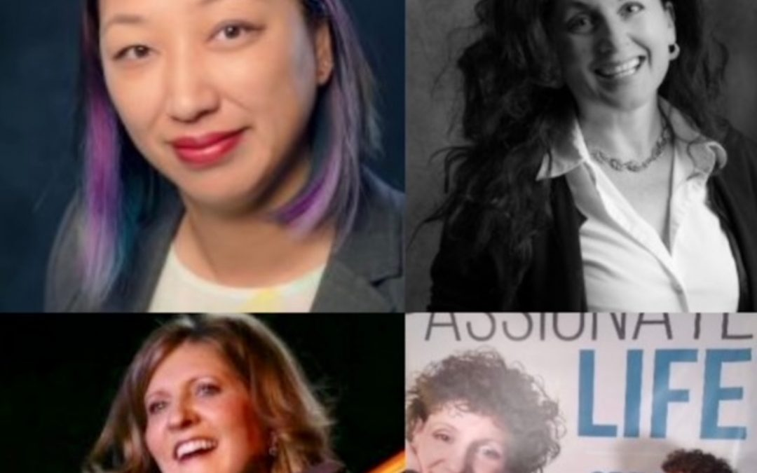 March 21, 2021: Public Health Advocate and Texas State Senate Candidate, Jinny Suh; Acupuncturist and Safety Conscious Austin Business Owner, Dr. Paula Bruno/Two Hearts Wellness; World-Renowned Violist, Karen Olson with Healing Music