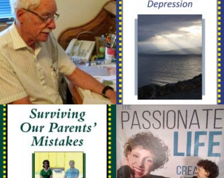 """July 18, 2021:  Larry Godwin, """"Transcending Depression"""" and """"Surviving Our Parents' Mistakes""""; Dr. Mara – Emerging and Reconnecting to Passion"""