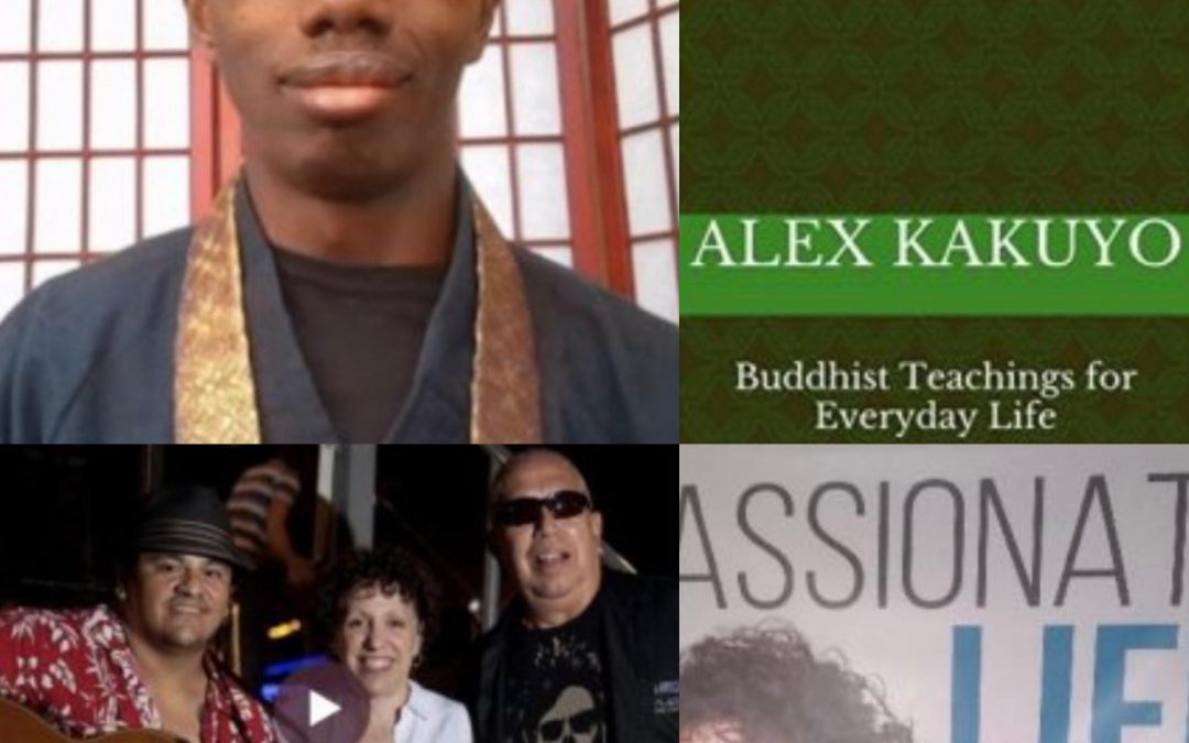"September 12, 2021:  Alex Kakuyo – ""Perfectly Ordinary: Buddhist Teachings for Everyday Life"" & Tribute for Guitarist Jake Cortez"